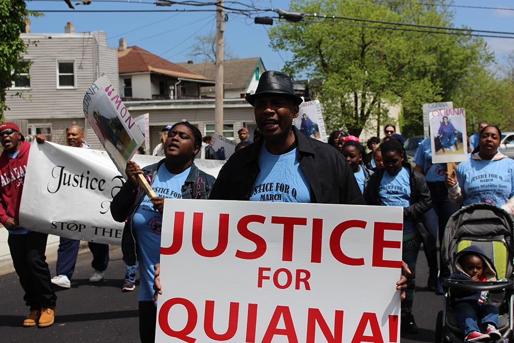 Justice For Quiana Dees March
