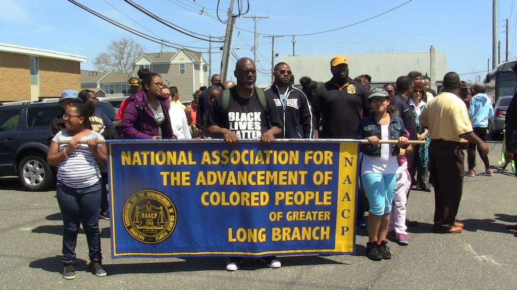 Greater Long Branch NAACP March For Change