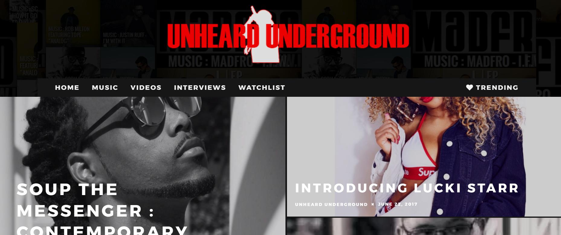 Unheard Underground Logo